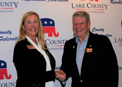 Senator Sue Rezin and Senator Jim Oberweis